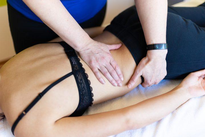 Viscerale Osteopatie am Patienten