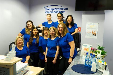 Physiotherapeuten im Therapiezentrum Clemensänger Freising